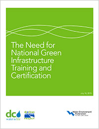 The Need for National Green Infrastructure Training and Certification